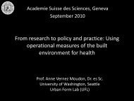 From research to policy and practice: Using operational measures of ...