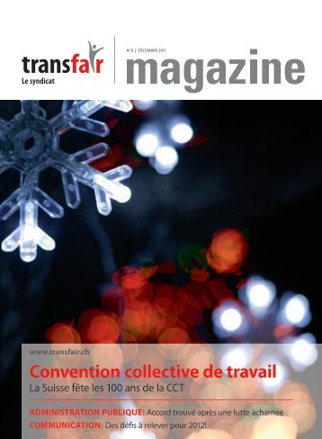 Convention collective de travail - transfair