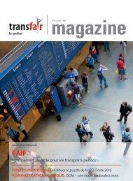 Financement durable pour les transports publics - transfair