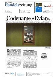 Codename «Evian» - transfair