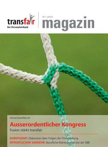Ausserordentlicher Kongress - transfair