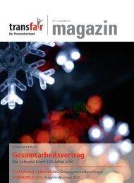 Gesamtarbeitsvertrag - transfair