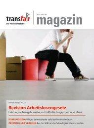 Revision Arbeitslosengesetz - transfair
