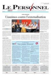 Le Personnel 4 septembre 2008, No 15 - transfair