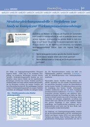 Verfahren zur Analyse komplexer Wirkungszusammenhänge