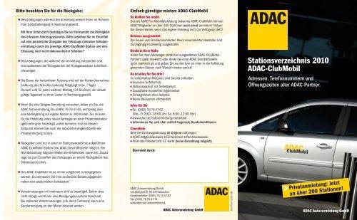 Adac villingen öffnungszeiten