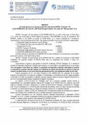 Articolul 2 - Transgaz