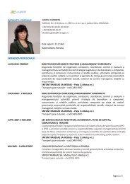 descarcă CV - Transgaz