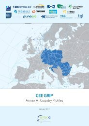 CEE GRIP - Annex A: Country Profiles - GIE