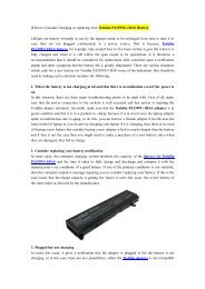 When to Consider Charging or replacing Your Toshiba PA3399U-1BAS Battery.pdf