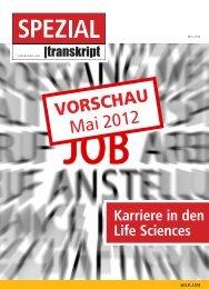 VORSCHAU Mai 2012 - Transkript