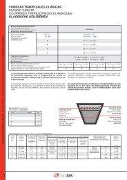Courroies de transmission Type 1-12,7 X 2083 Courroies Trapézoïdales
