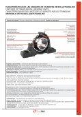 Descárgate el PDF de Soportes y rodamientos - TRANSLINK - Page 7