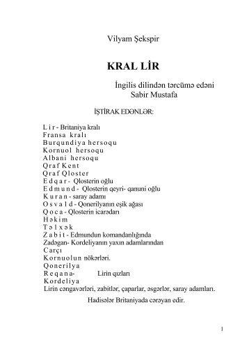 KRAL LÄ°R
