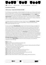 Press Release #04 Opening 1 feb 2011, 6:30 – 10 ... - Transmediale