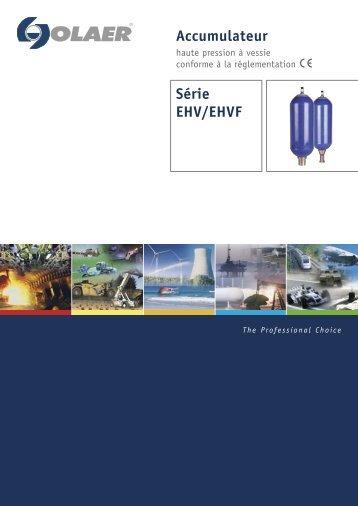 AccumulateurE Série EHV/EHVF - Transmission Expert