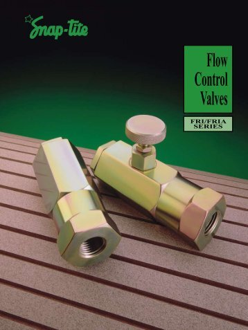 Flow Control Valves - Transmission Expert