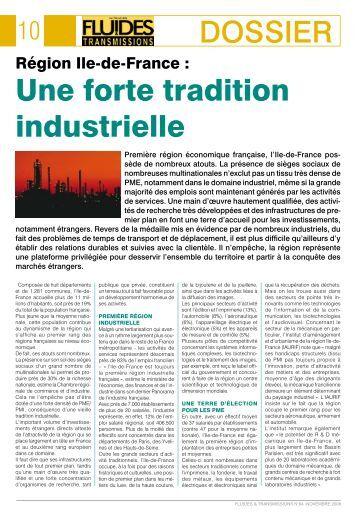 FT94. Première région économique française, l'Ile-de-France ...