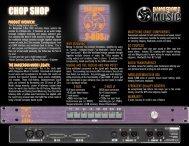 2-Bus LT Chop Shop/Fact Snack - Dangerous Music