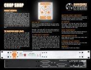 DAC-SR Chop Shop/Fact Snack - Dangerous Music