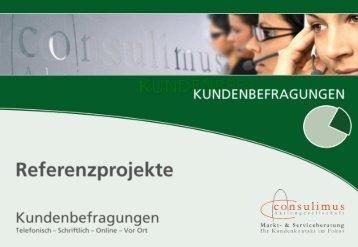 Consulimus AG - Kundenbefragungen