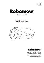 ROBOMOW   Mähroboter Handbuch
