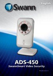 SWHOM-DP860C Manual - Swann Communications