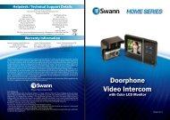 DVR4-1200 Operating Manual - Swann Communications