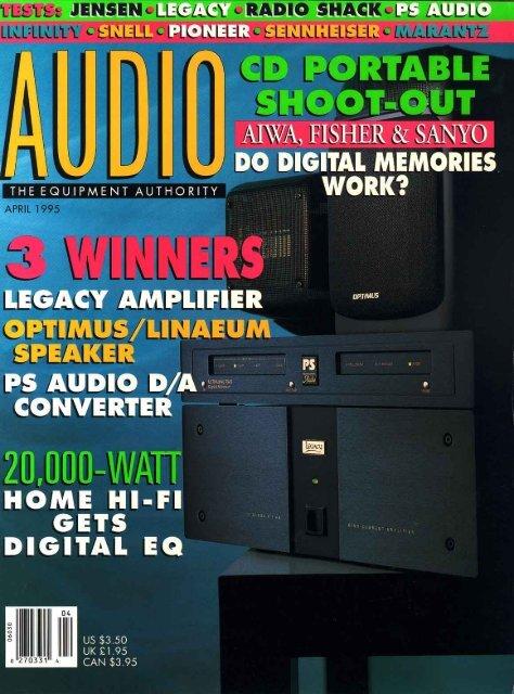 20000 Watt Home Hi-Fi Gets Digital EQ