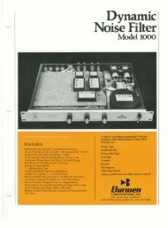 Dynamic Noise Filter Model 1000 - March 1974.pd