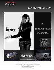 iGame GTX450 Buri-SLIM - Colorful