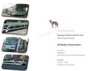 Passenger Satisfaction Monitor 2012 - Transperth