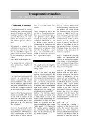 Download PDF-file of Guidelines to authors - Transplantation.de
