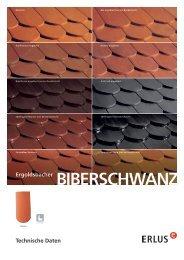 BIBERSCHWANZ Ergoldsbacher - Erlus AG