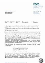 1 Einladung zur Pressekonferenz des ISODP-Kongress am 5 ...