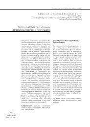 spezielle aspekte des ischämie-/ reperfusionsschadens am pankreas