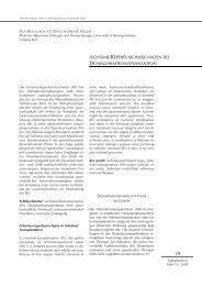 ischämie-reperfusionsschaden bei dünndarmtransplantation
