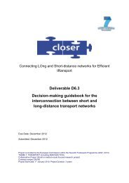 Decision-Making Guidebook for the Ineterconnection... - Transport ...