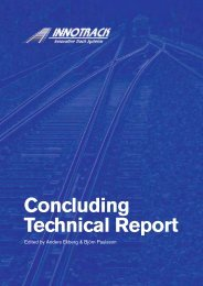 INNOTRACK Concluding Technical Report - Transport Research ...