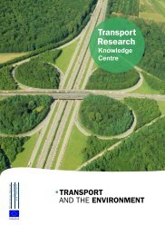 Transport and the Environment - Transport Research & Innovation ...