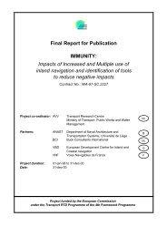 IMMUNITY - Final Report - Transport Research & Innovation Portal