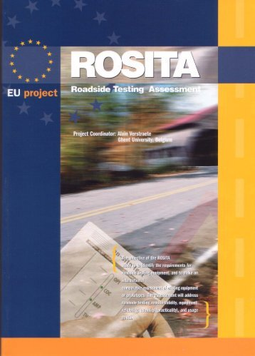 ROSITA - Final Report - Transport Research & Innovation Portal