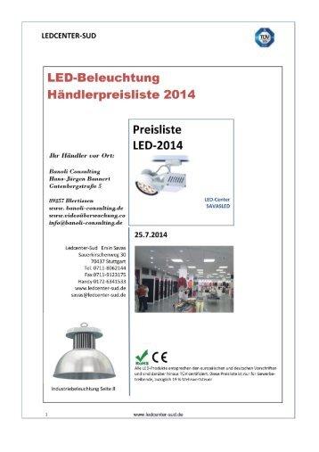 LED-Beleuchtung - Händlerpreisliste.pdf