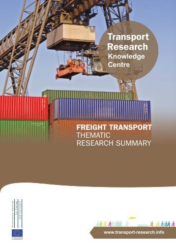 Freight Transport - Thematic Research Summary