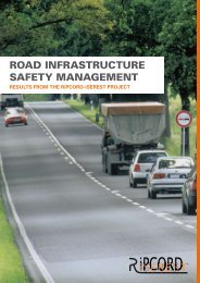 Road Infrastructure Safety Management - RIPCORD-ISEREST.com
