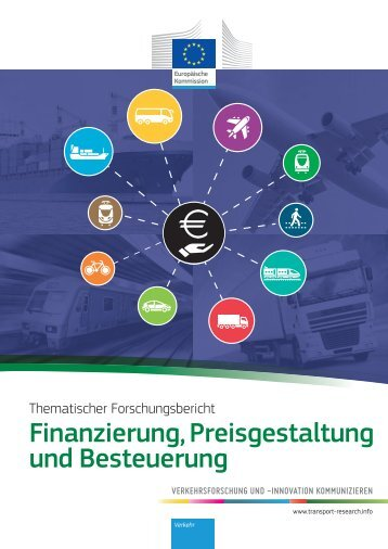 Finanzierung, Preisgestaltung und Besteuerung - Transport ...