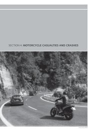Motor Vehicle Crashes 2009 - Section 4: Motorcycle casualties and ...