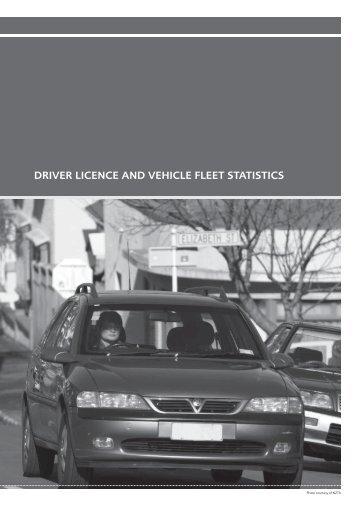 Motor Vehicle Crashes 2009 - Driver licence and vehicle fleet statistics