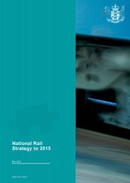 National Rail Strategy to 2015 - Ministry of Transport