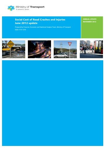Social Cost of Road Crashes and Injuries June 2012 Update ...